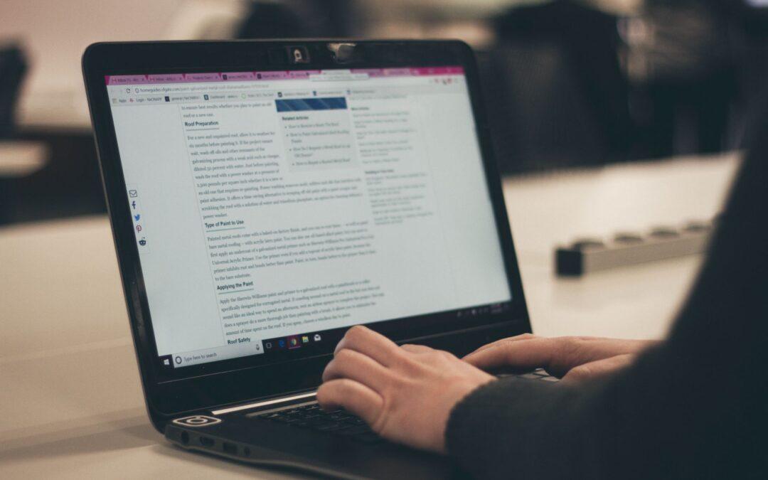 Derfor er blogindlæg en fordel for virksomheder
